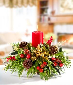 Centros de mesa navide os para navidad info muebles - Como hacer un centro de mesa navideno ...