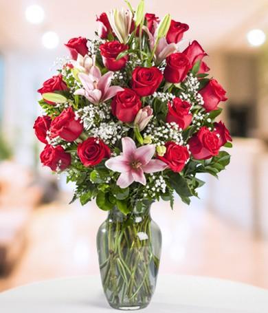 Perfección en Rosa y Rojo