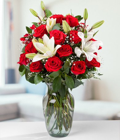 Purely Roses and Lilies