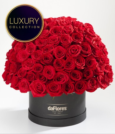 Más de 100 Rosas Rojas Premium