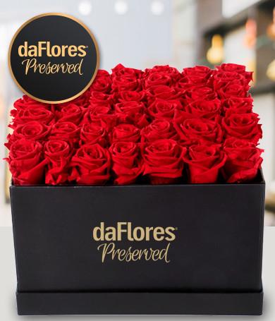 Rosas Preservadas Caja Grande