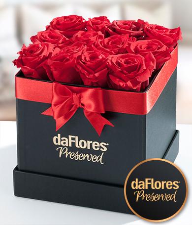 Rosas Preservadas Caja Pequeña
