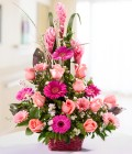 Mixed Flower Basket